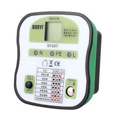 AU Plug LED Socket Safety Tester ECLB RCD Tester 50/60Hz