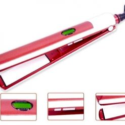 Digital Temperature Adjustable Ceramic Hair Straightening Iron