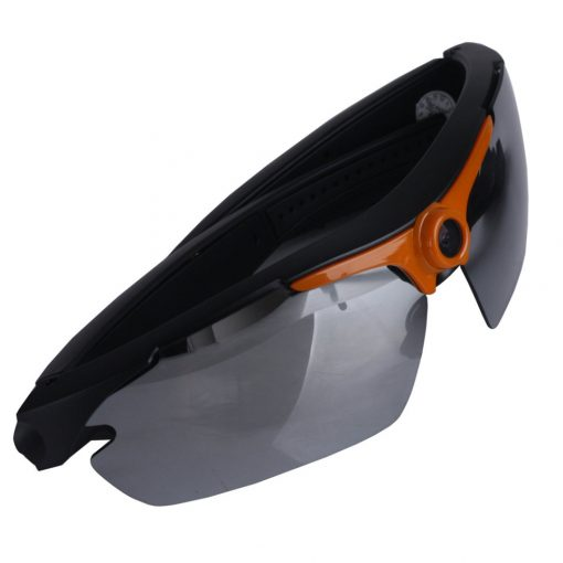 720P with 170 Degree HD Sunglasses Action Sports Camera - Orange