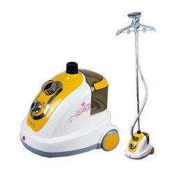 Heavy Duty Garment Steamer - Yellow