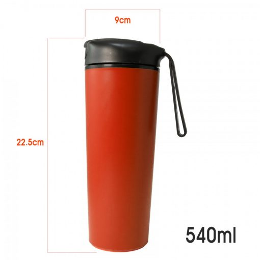 540 ml Suction Tumbler Spill Free - Red