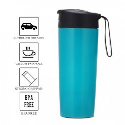 540 ml Suction Tumbler Spill Free - Blue