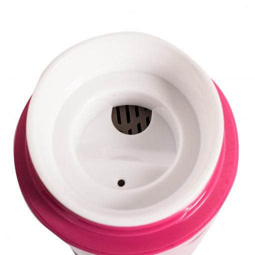 400 ml Thermal Suction Spill Free Tumbler - Pink