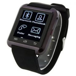 Bluetooth Smart Watch for Smart Phones - Black