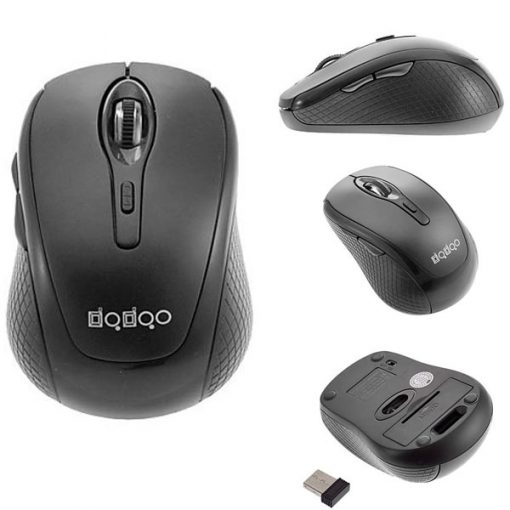 2800 DPI Wireless Mouse - Black