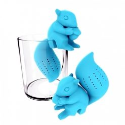 Squirrel Silicone Tea Infuser - Blue