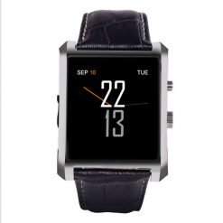 Smart Watch Phone with Bluetooth Call and SMS - Black