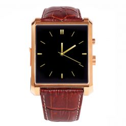 Smart Watch Phone with Bluetooth Call and SMS - Gold