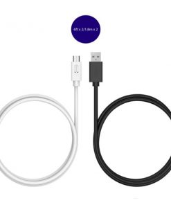 Tronsmart CC05P 2 Pcs 1.8 Meter USB 2.0 Type-C Male to USB-A Male Sync and Charging Cable