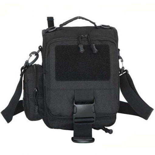 Utility Outdoor Shoulder Cross-body Bag - Black