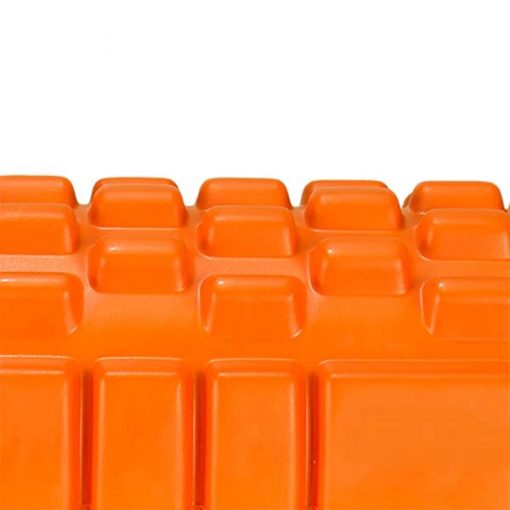 Yoga Foam Roller Exercise Tube - Orange