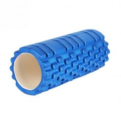 Yoga Foam Roller Exercise Tube - Blue