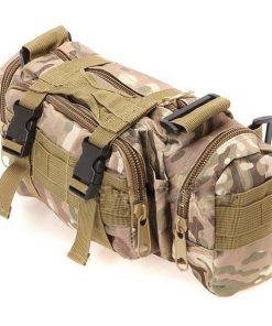 Utility Outdoor Body Bag - Brown Green