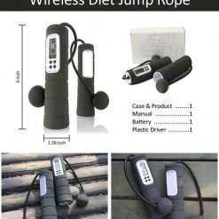 Wireless Jump Rope With Digital Counter