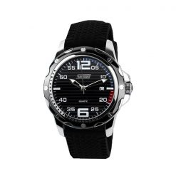SKMEI 0992 30M Waterproof Casual Watch - Black/White