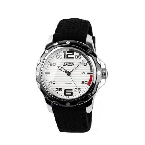 SKMEI 0992 30M Waterproof Casual Watch - White/Black