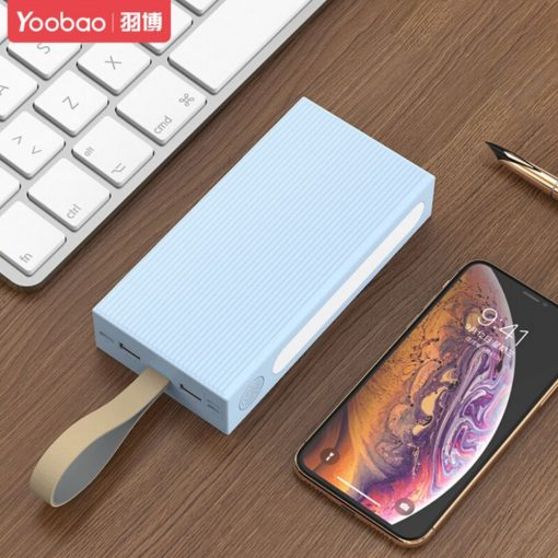 Yoobao P20E Power Explorer 20,000 MAH Powerbank With External LED Light