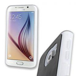 Stick Anywhere Micro Suction Anti Gravity Case  Samsung Galaxy S6 - White