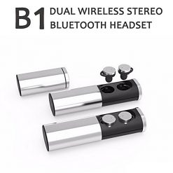 Zilla True Wireless 2 Earphone Stereo Bluetooth Headset With Charging Case - Silver