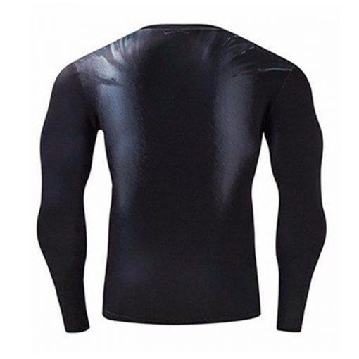 Super Hero Compression Wear Batman  Medium - Black