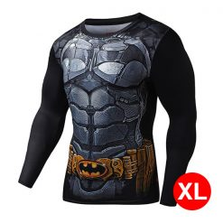 Super Hero Compression Wear Batman XL - Black