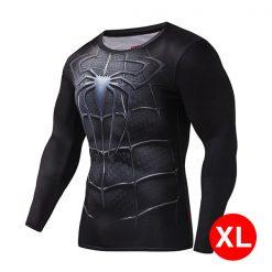 Super Hero Compression Wear Spider Man XL - Black