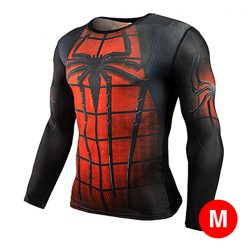 Super Hero Compression Wear Spider Man Medium - Red