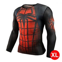 Super Hero Compression Wear Spider Man XL - Red