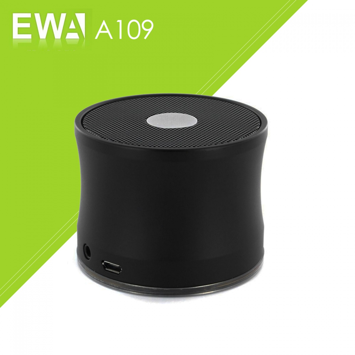 EWA A109 Bluetoothn Speaker - Black