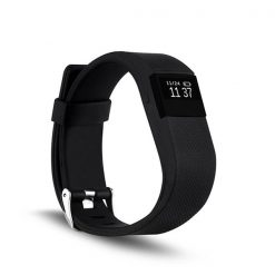 Sport Smart Heart Rate Monitor Bracelet - Black