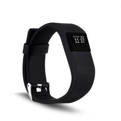 Sport Smart Heart Rate Monitor Bracelet - Black