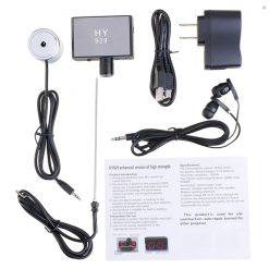 Wall Audio Sound Listening Device - Black