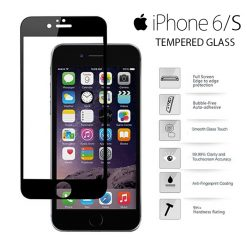 Yoobao Apple iPhone 6/S Tempered Glass Protector Screen - Black