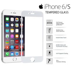 Yoobao Apple iPhone 6/S Tempered Glass Protector Screen - White