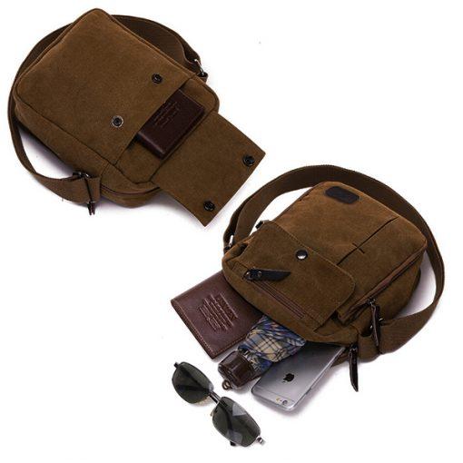Tactical Shoulder Bag - Brown