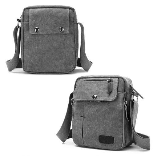 Tactical Shoulder Bag - Gray