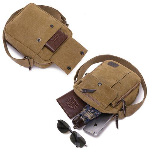 Tactical Shoulder Bag - Khaki
