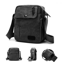 Tactical Soulder Bag - Black