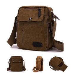 Tactical Shoulder Bag - Brown