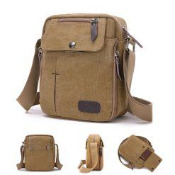 Tactical Shoulder Bag - Khaki