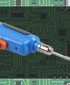 TAKUMI LGKBI-645 Battery Operated Soldering Iron - Blue
