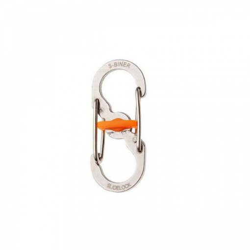 Stainless Steel Anti-theft Lock Key Buckle - Silver