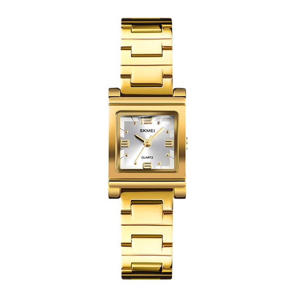Skmei 1388 Luxury Quartz Women's Watch - Gold