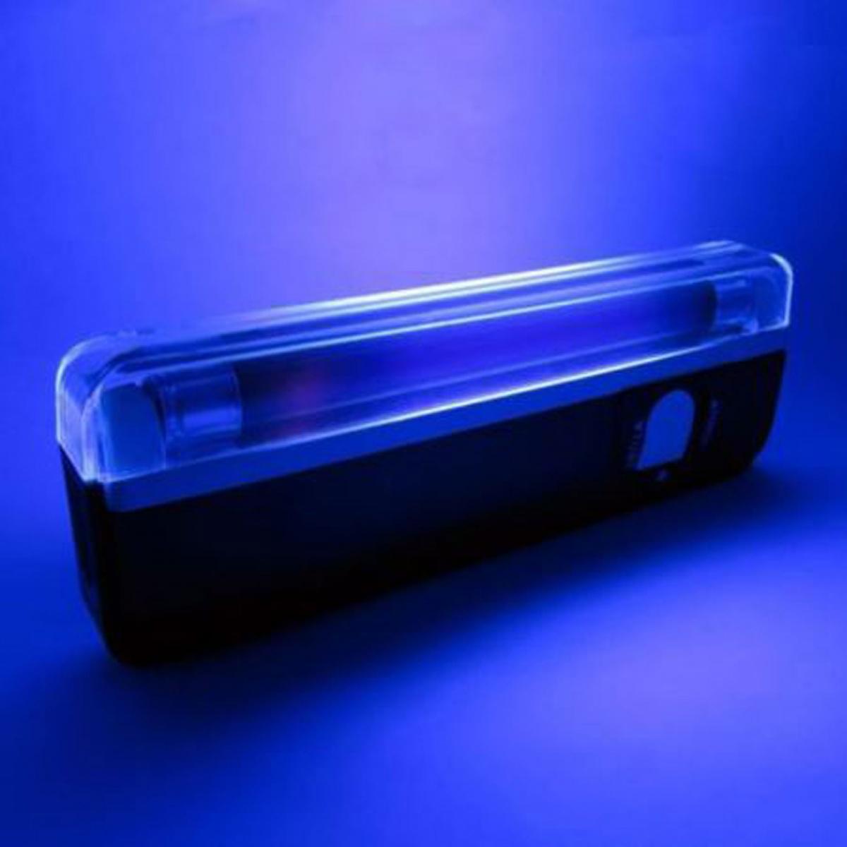 Hanheld LED Flashlight Blacklight - Black