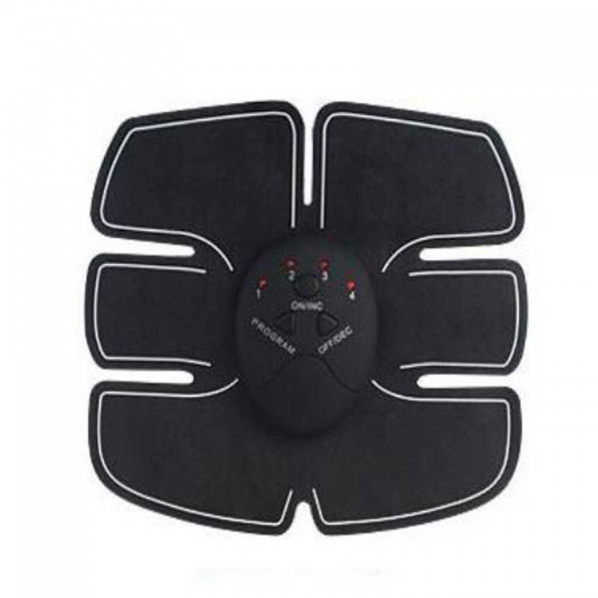 EMS Abdominal ABS And Arms Stimulator - Black