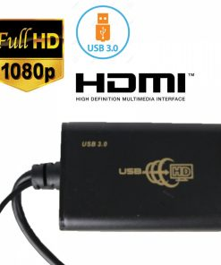 USB to HDMI Adapter- Black