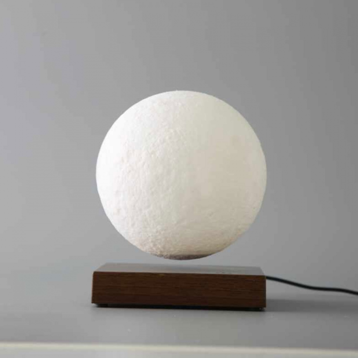 Magnetic Levitation Light Changing Moon Lamp - White