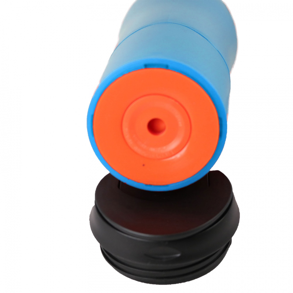 470 ml Leak Proof Thermal Spill Free Suction Tumbler  - Blue