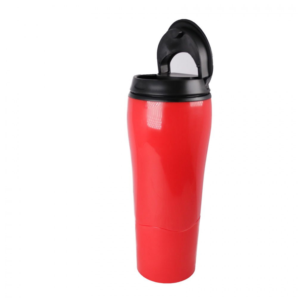 470 ml Leak Proof Thermal Spill Free Suction Tumbler  - Red