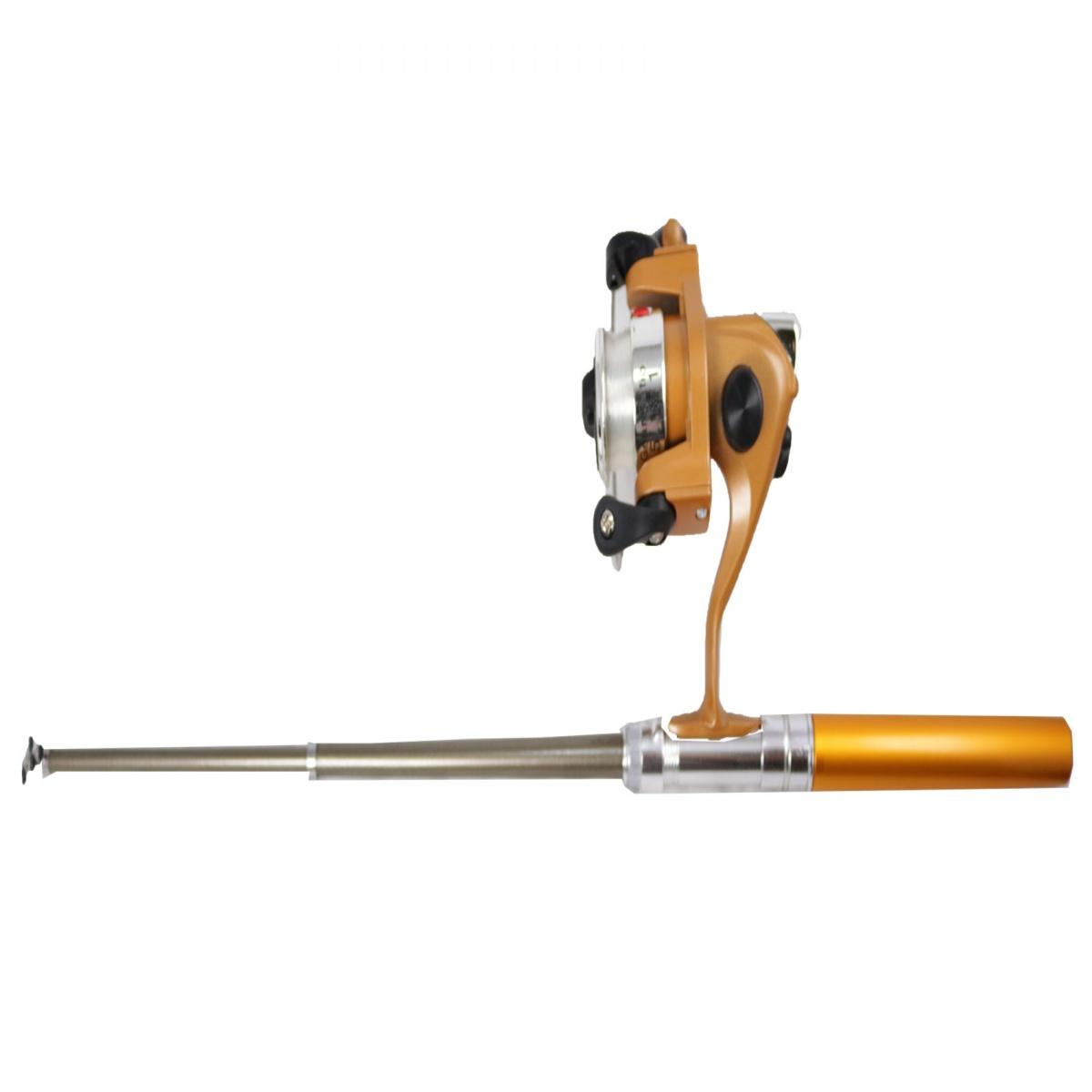 Pen Fishing Rod - Brown